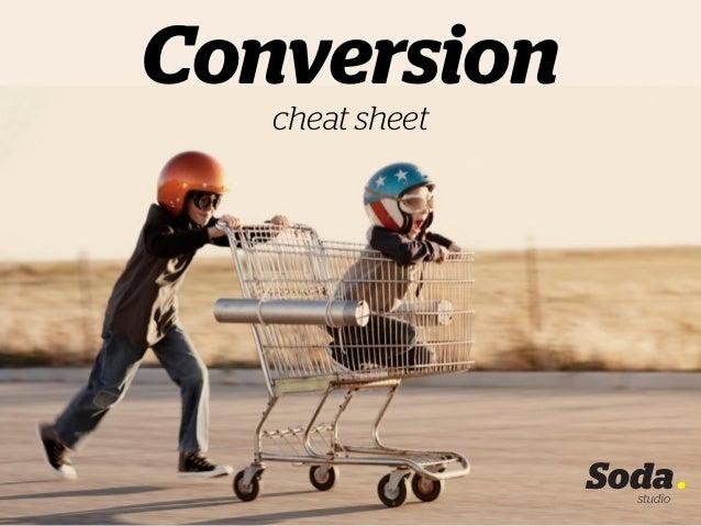 Conversion cheat sheet