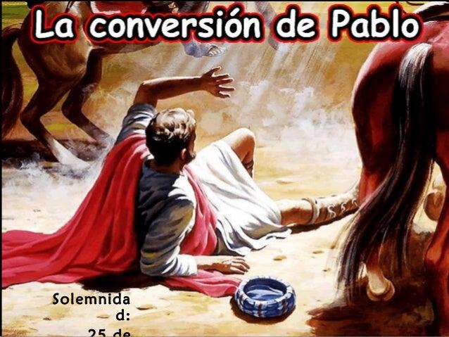 Conversión san pablo