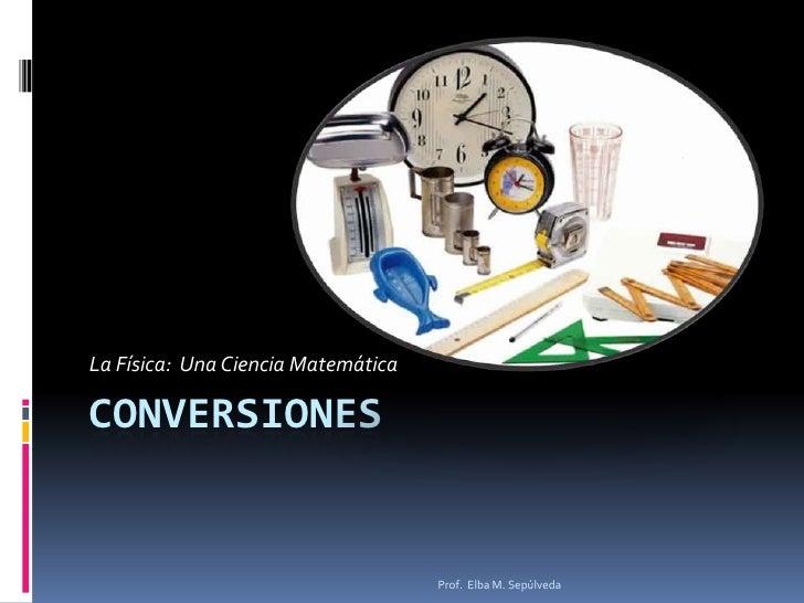 Conversiones