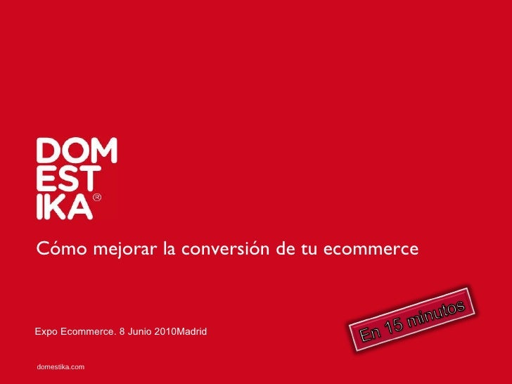Conversion expo ecommerce madrid 2010