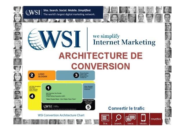 Architecture de conversion: comment optimiser votre site Web