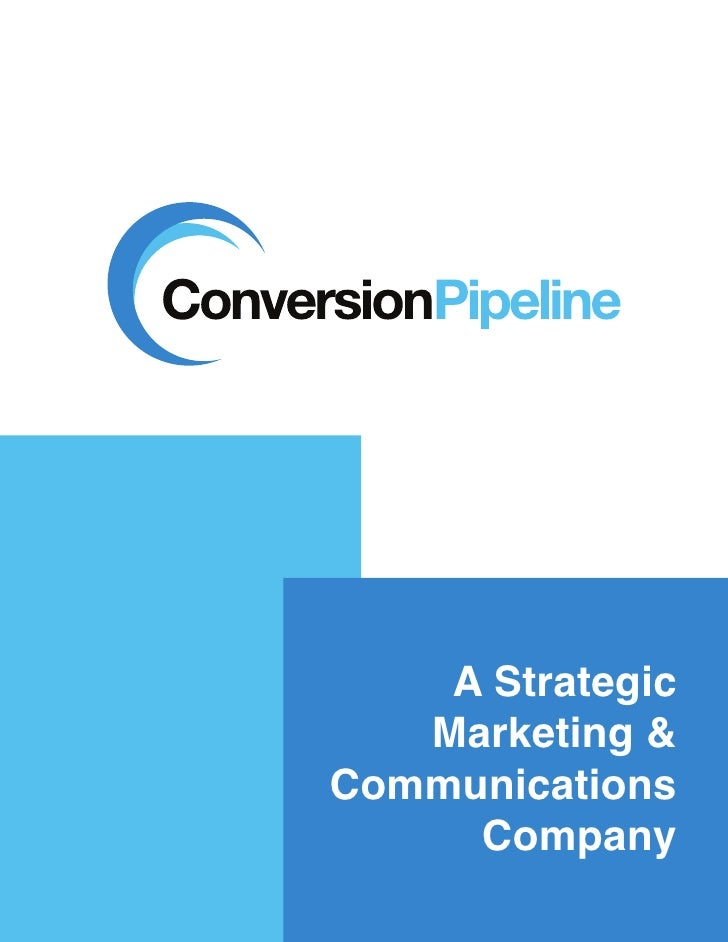 Conversion Pipeline Marketing Brochure