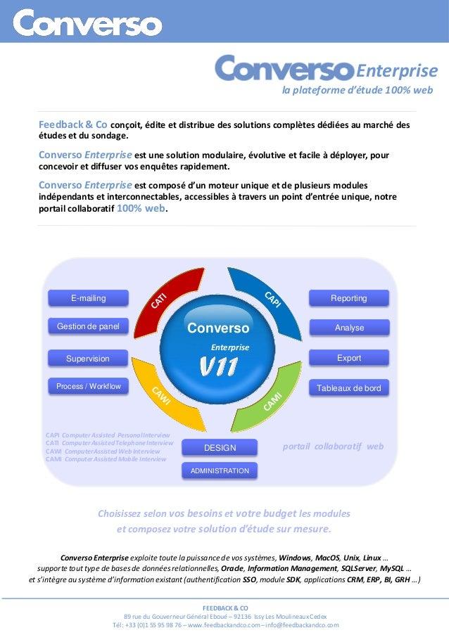 Converso Enterprise