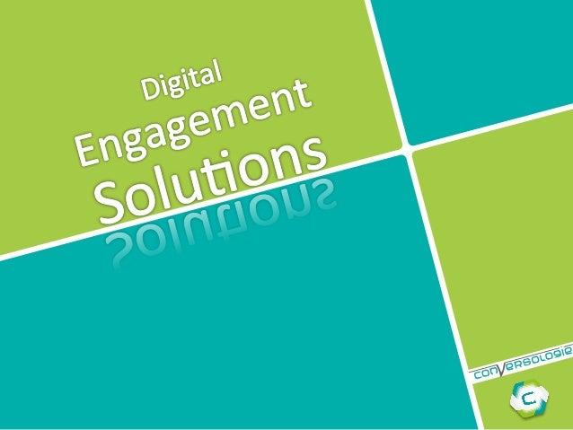 Conversologie Digital Engagement Solutions