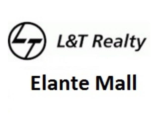 L&T Elante Mall Chandigarh Office Space Price List