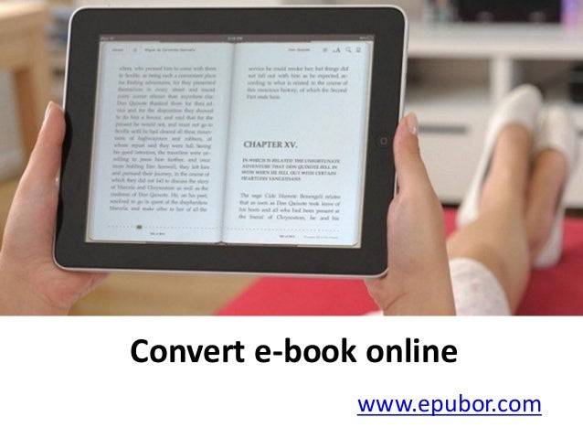 Convert e-book online www.epubor.com