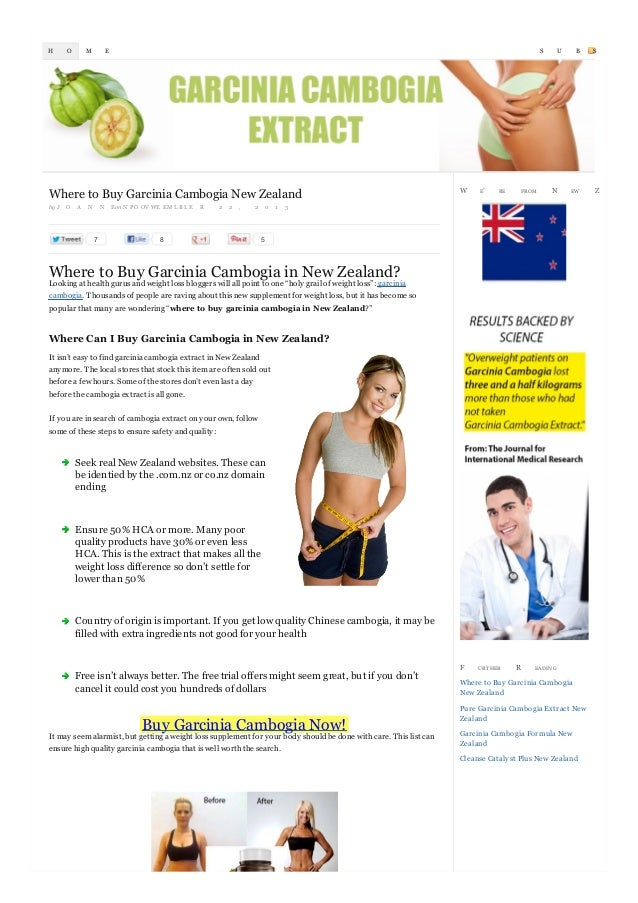 H  O  M  S  E  Where to Buy Garcinia Cambogia New Zealand by J  O  A  N  N  7  Eon N P O O V WE EM L B L E  R  2  2  ,  2 ...