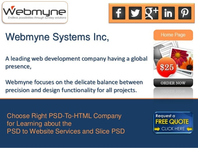 Webmyne Systems Inc,A leading web development company having a globalpresence,Webmyne focuses on the delicate balance betw...