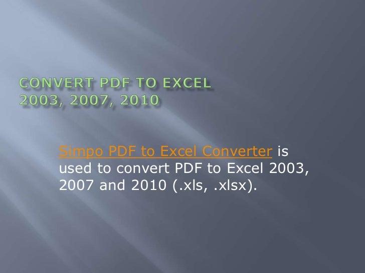 xlsx to pdf converter free online