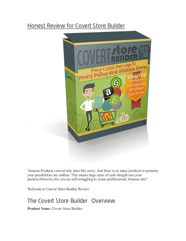 THE ULTIMATE Convert Store Builder Review
