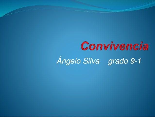 Ángelo Silva grado 9-1