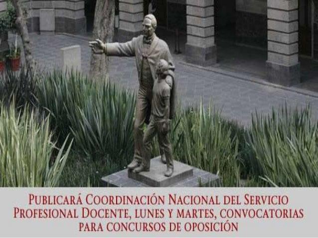 Fecha Convocatoria De Ingreso Al Servicio Profesional