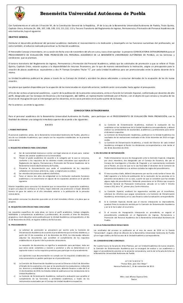 Benemérita Universidad Autónoma de Puebla Con fundamento en el artículo 3 fracción VII, de la Constitución General de la R...