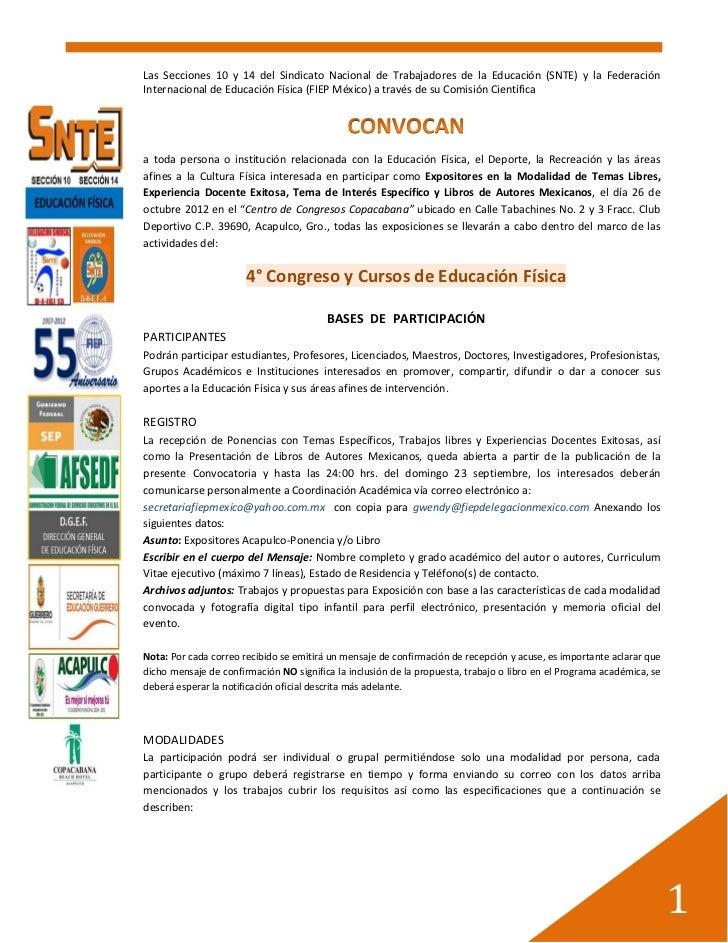 Convocatoria expositores acapulco 2012