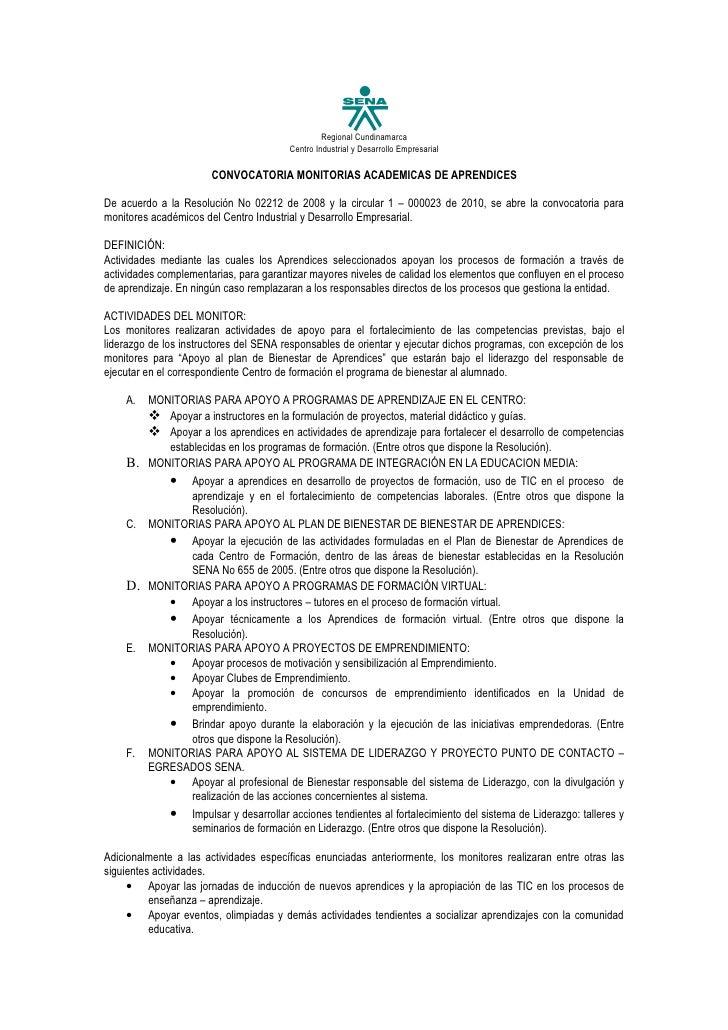 Regional Cundinamarca                                        Centro Industrial y Desarrollo Empresarial                   ...