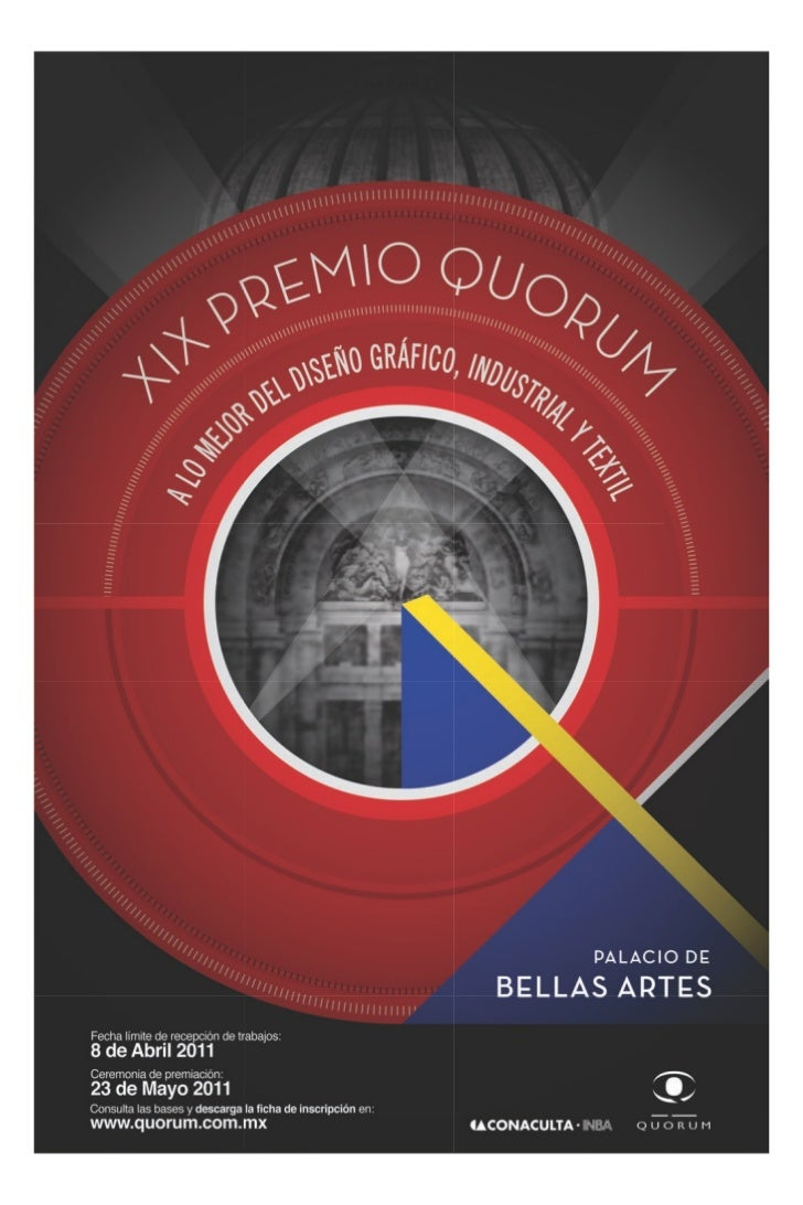 Quórum, Consejo de Diseñadores de México, A.C., se honra en convocar     al XIX Premio Quórum 2011, el foro donde se premi...