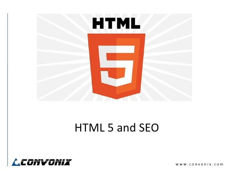 HTML5 and Search Engine Optimization (SEO)