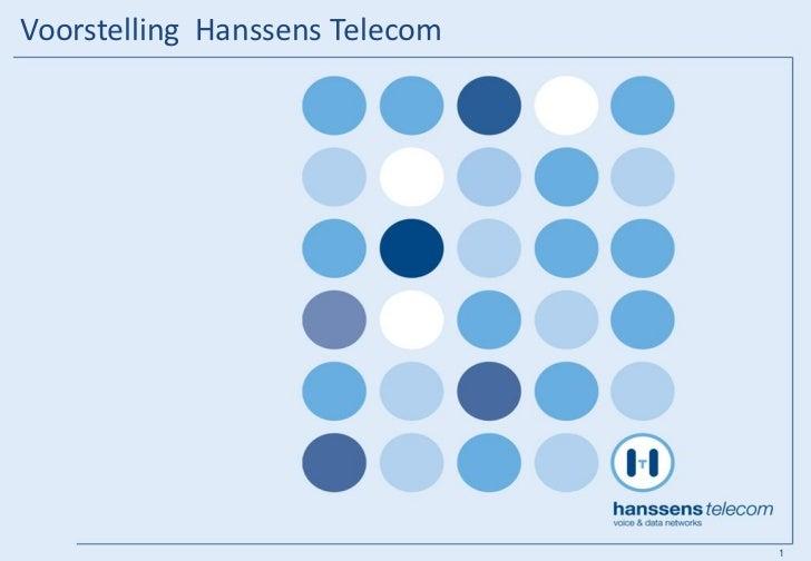 Voorstelling Hanssens Telecom                                1