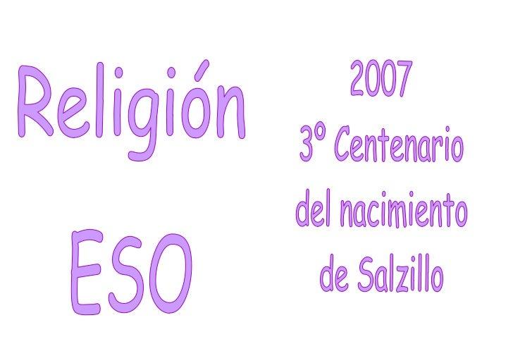 "Con ""Z"" de Salzillo"