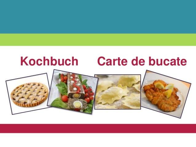 Carte de bucateKochbuch
