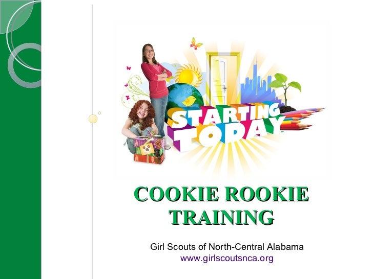 Cookie Rookie Training 2011