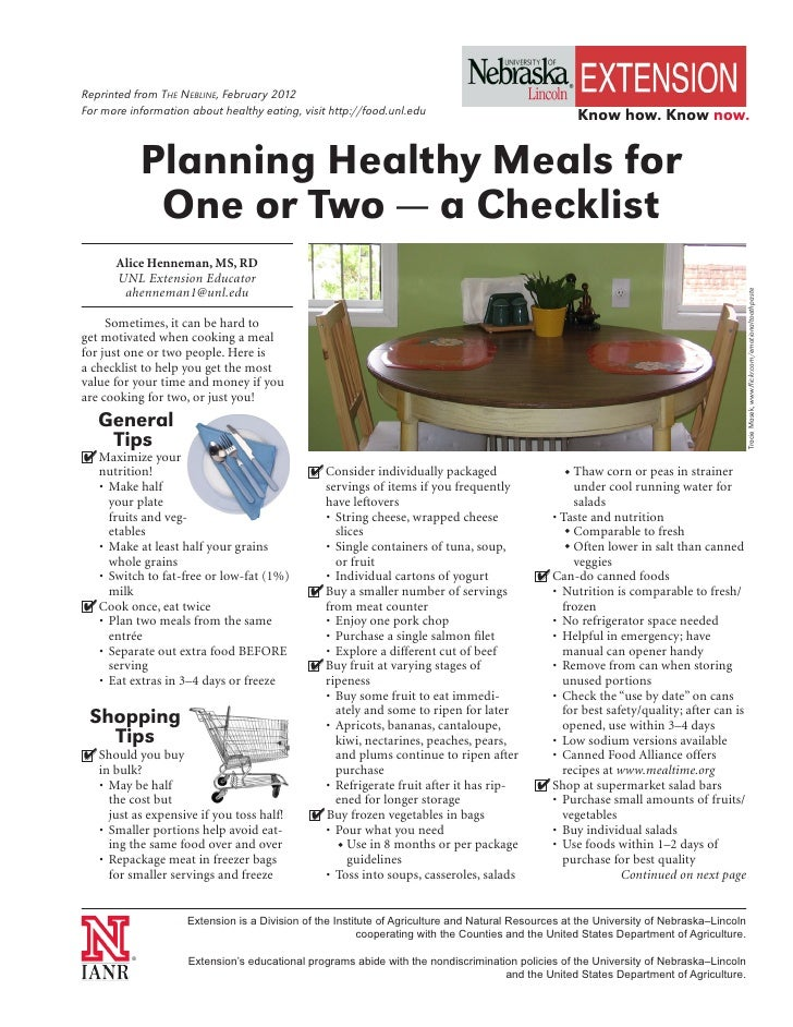 Reprinted from The NebliNe, February 2012For more information about healthy eating, visit http://food.unl.edu             ...