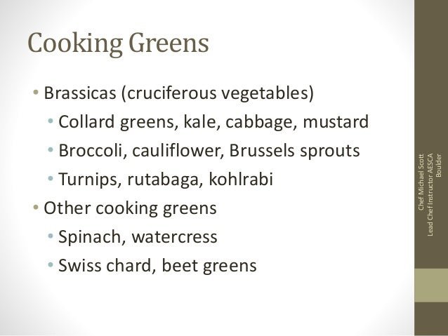 Cooking greens review