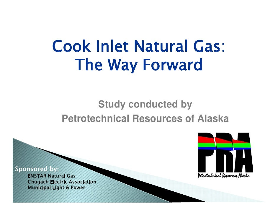 Cook inlet natural gas the way forward