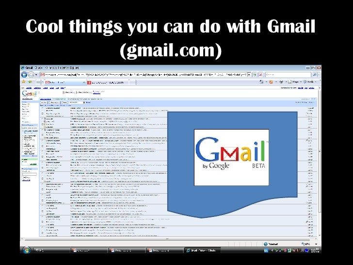 Cool Things You Can Do With Gmail