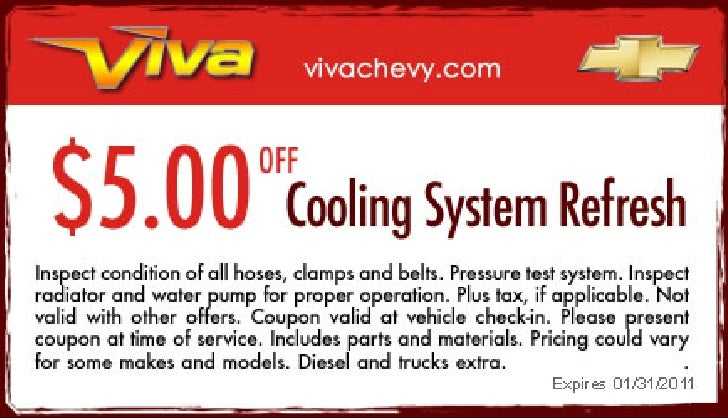 Cooling System Refresh – Viva Chevy TX