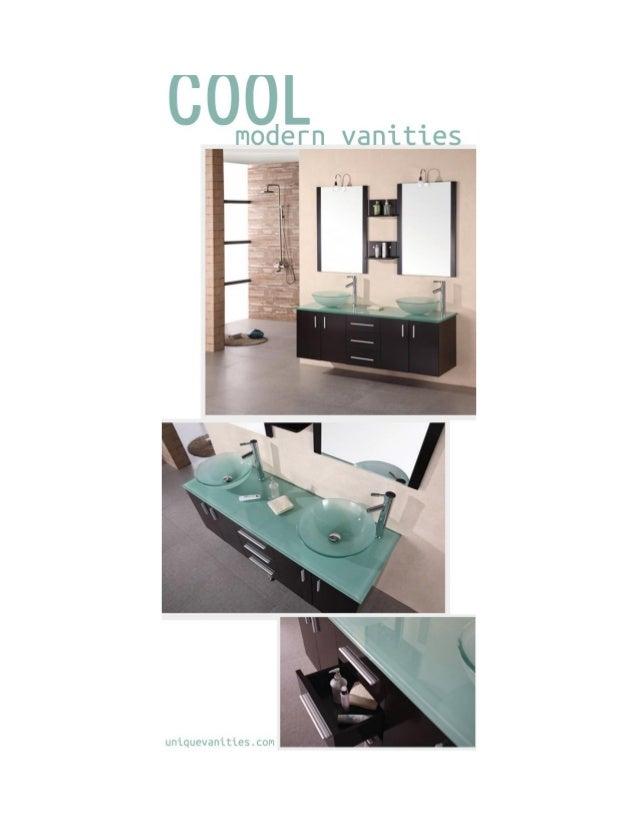 Cool Modern Vanities