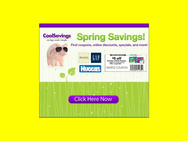 Cool Savings - Cool Savings & Samples of Popular Brands