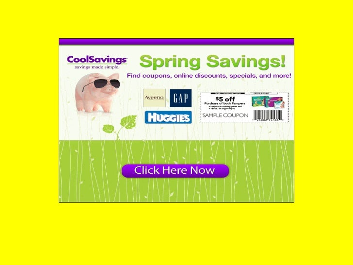 Cool savings- Cool Savings & Samples of Popular Brands