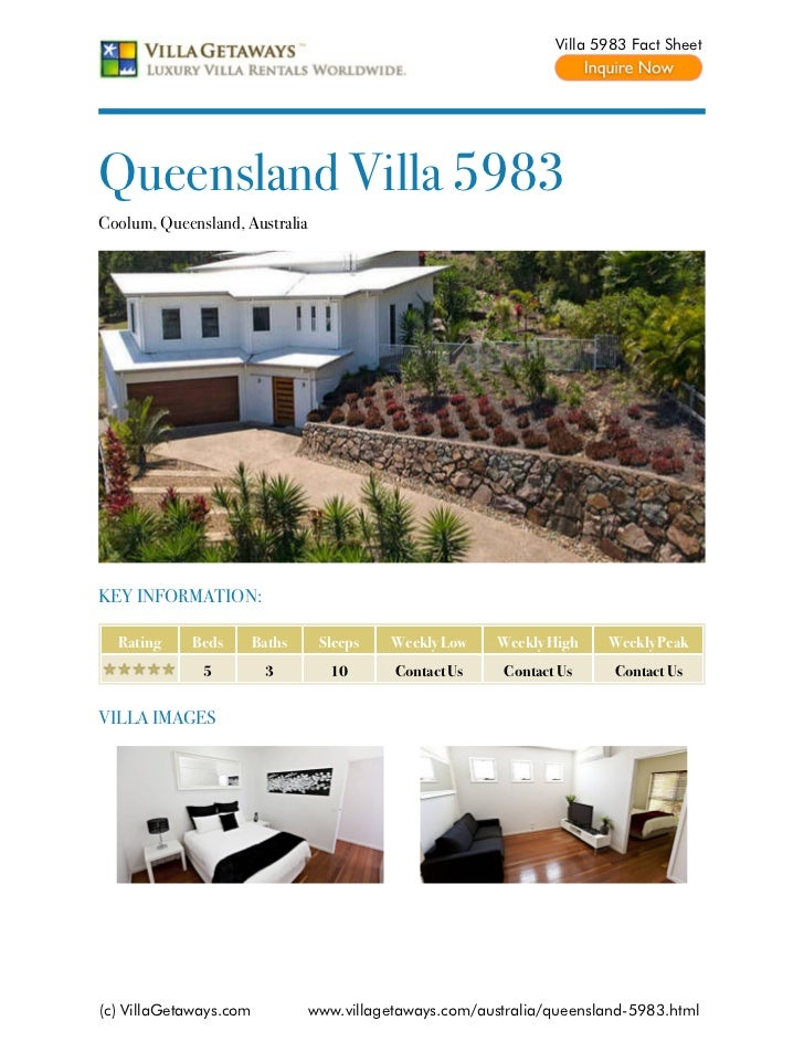 Coolum villa 5983