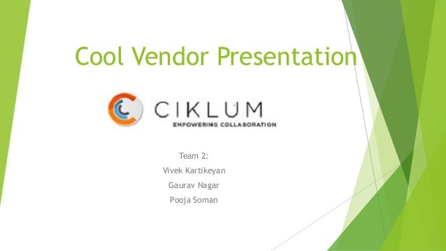 Cool vendor presentation (2)
