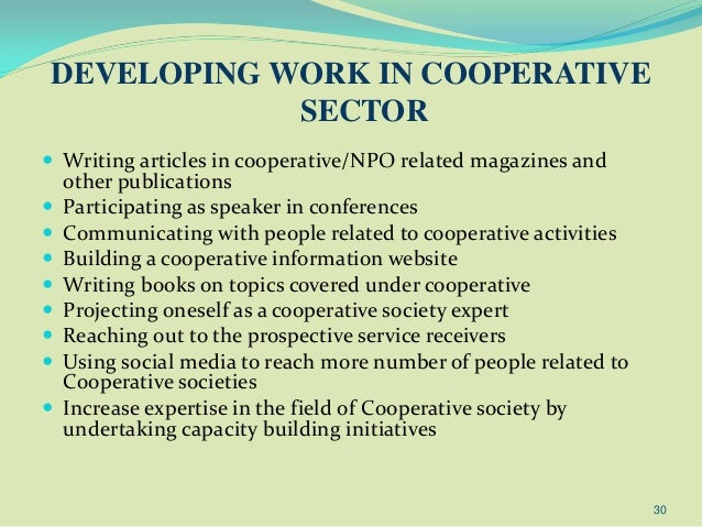 essay cooperative society The uk also has a number of autonomous consumers' cooperative societies, such as the east of england co-operative society and midcounties co-operative in fact, the co-operative group is something of a hybrid, having both corporate members.