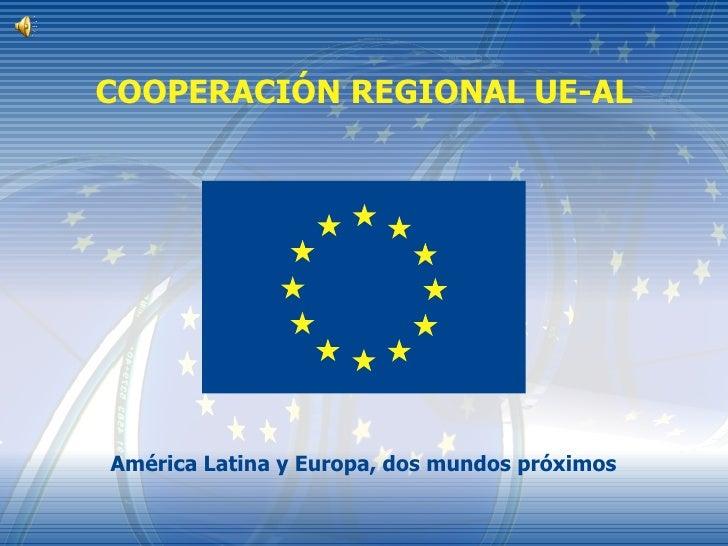 Cooperacion Regional Ue Al Vittorio Tonutti
