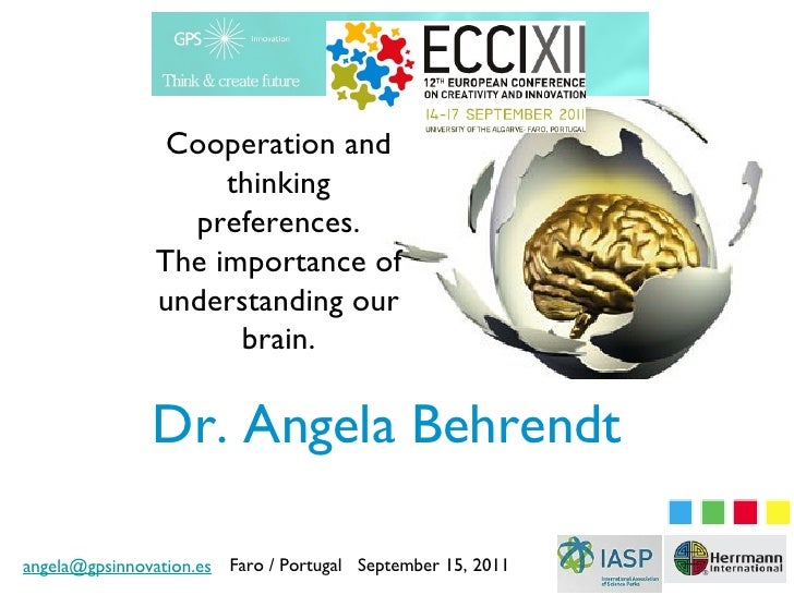 Cooperation and                    thinking                 preferences.               The importance of               und...