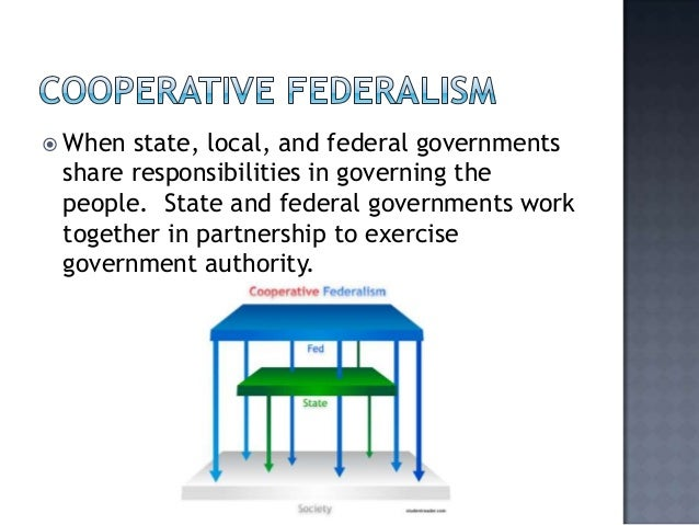 differences between dual and cooperative federalism