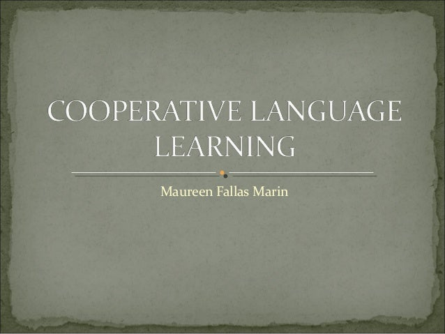 Cooperativelanguagelearning