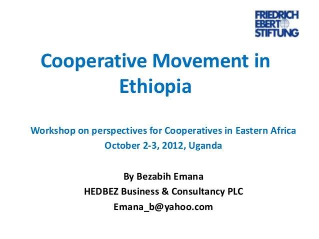 Cooperatives in ethiopia