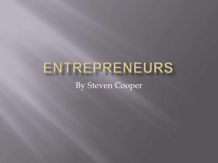 Cooper entrepreneurs