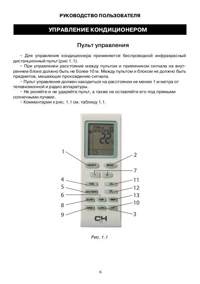 C H кондиционер инструкция по применению - фото 7
