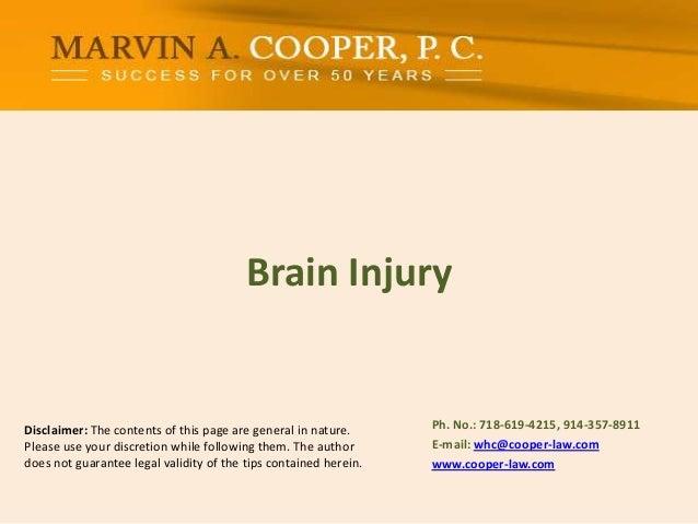 Brain Injury - Traumatic Brain Injury