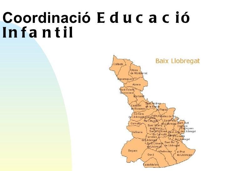 Coordinació  Educació Infantil