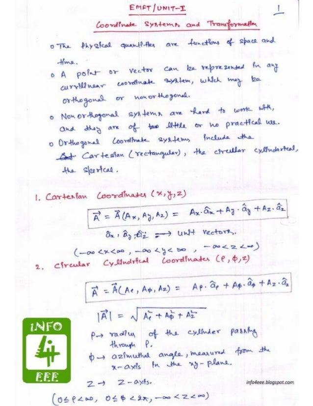 Coordinate system & transformation