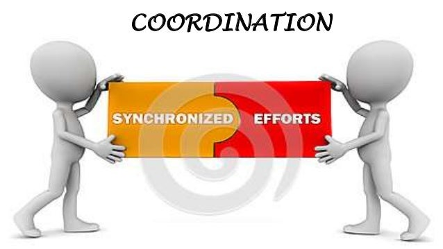 Coordinating And Controlling