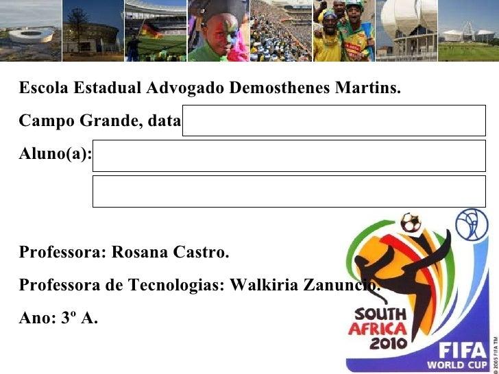 Copa 2010 e áfrica do sul
