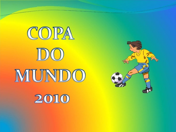 Copa do mundo   power point