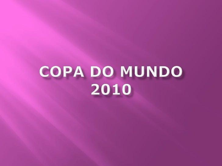 1. Pesquisar na internet o nome dos    jogadores da seleção brasileira que    estarão na Copa do Mundo de 2010;  2. Explor...